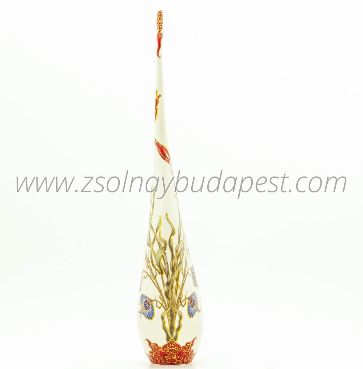 One of a kind Hungarian Rhapsody vase