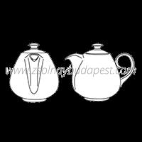 Rippl-Rónai Tea Service