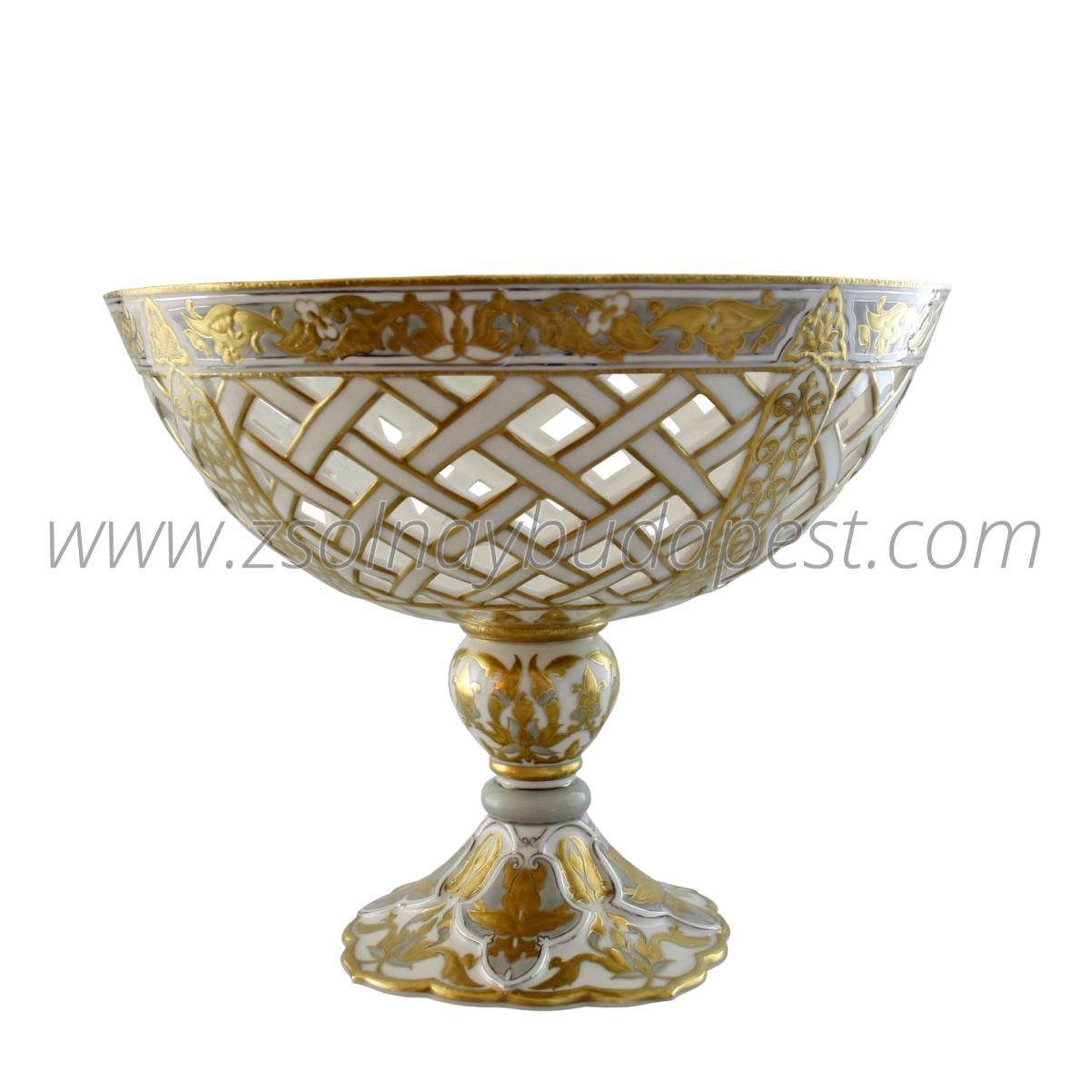 One of a Kind footed bowl 10766/8586
