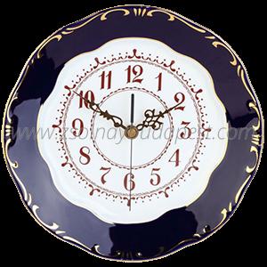 Clock Plate - Pompadour 3