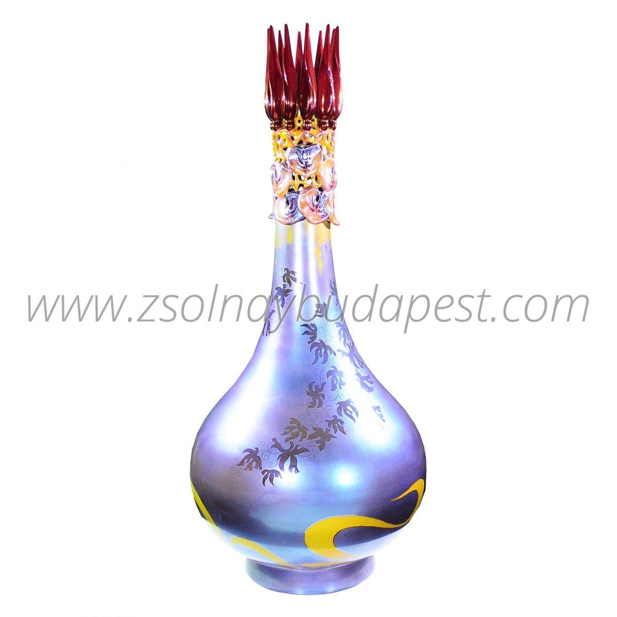 Limited Edition Lotus Eosin Vase Collector's piece